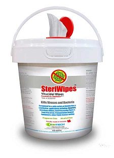 Wipes Sanitizing SteriWipes 160wipes/container SteriWipes SteriKleen Disinfecting Wipes